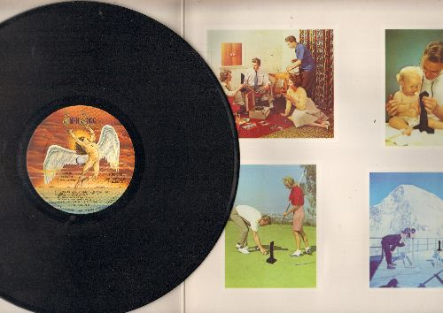 Led Zeppelin - Presence:Achilles Last Stand, For Your Life, Candy Store Rock, Tea For One (vinyl STEREO LP record, gate-fold cover) - NM9/VG6 - LP Records