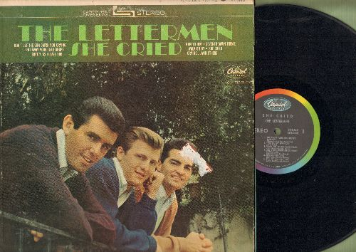 Lettermen - She Cried: Softly As I Leave You, Run To Him, Crying, Are You Lonesome Tonight (Vinyl STEREO LP record) - VG7/VG7 - LP Records
