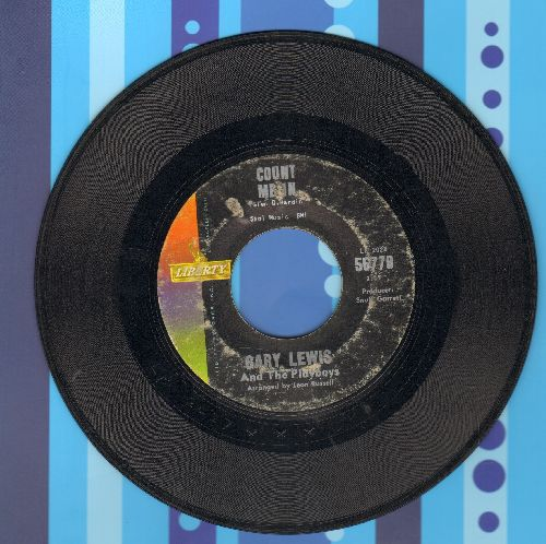 Lewis, Gary & The Playboys - Count Me In/Little Miss Go-Go - VG7/ - 45 rpm Records