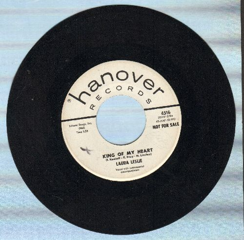 Leslie, Laura - King Of My Heart/Keep My Love - NM9/ - 45 rpm Records