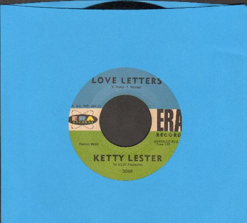 Lester, Ketty - Love Letters/I'm A Fool To Want You  - EX8/ - 45 rpm Records
