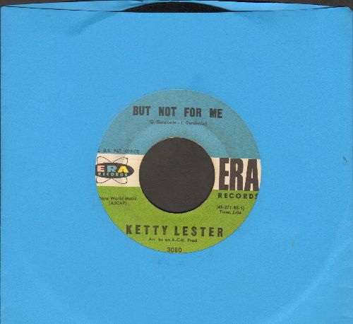 Lester, Ketty - But Not For Me/Once Upon A Time - EX8/ - 45 rpm Records