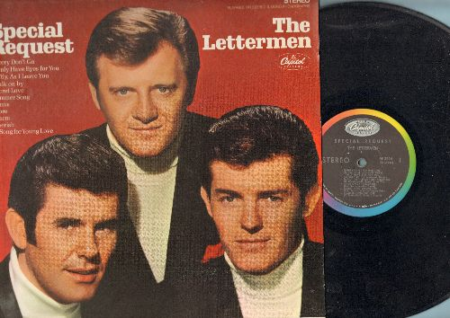 Lettermen - Special Request: I Only Have Eyes For You, Softly As I Leave You, Secret Love, More, Venus, Summer Song (vinyl STEREO LP record) - EX8/NM9 - LP Records