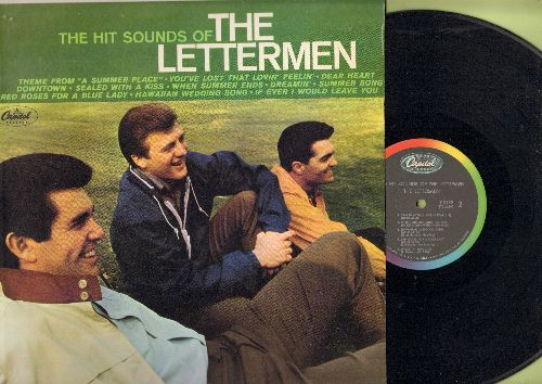 Lettermen - The Hit Sounds Of The Lettermen: Theme From A Summer Place, You've Lost That Lovin' Feelin', Downtown, Sealed With A Kiss, Dreamin', Summer Song (Vinyl STEREO LP record) - NM9/NM9 - LP Records