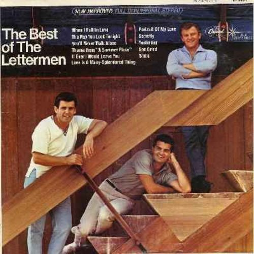 Lettermen - The Best of The Lettermen: When I Fall In Love, The Way You Look Tonight, Secretly, Smile, Love Is A Many-Splendored Thing (vinyl LP record - re-issue) - M10/EX8 - LP Records