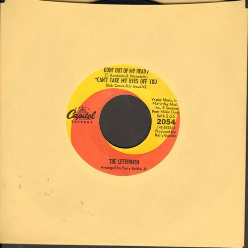 Lettermen - Goin' Out Of My Head/Can't Take My Eyes Off You/I Believe - EX8/ - 45 rpm Records
