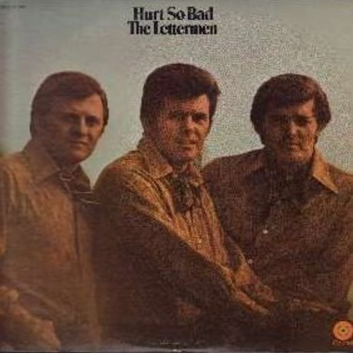 Lettermen - Hurt So Bad: Baby It's You, A Time For Us, Sunny, On Broadway, Elusive Butterfly, Here There And Everywhere (Vinyl STEREO LP record) - NM9/VG7 - LP Records