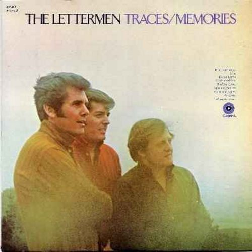 Lettermen - Traces/Memories: Hang On Sloopy, Jean, Dream Lover, For Your Love, Where Is Love? (Vinyl LP record) - EX8/EX8 - LP Records