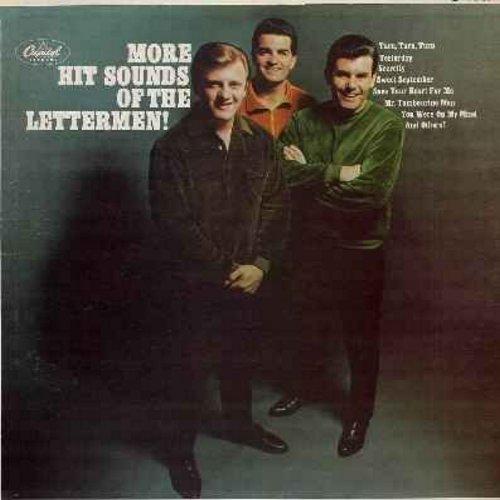 Lettermen - More Hit Sounds Of The Lettermen: Secretly, Turn Turn Turn, Yesterday, Mr. Tambourine Man, Save Your Heart For Me, Yesterday, Blue Velvet (Vinyl MONO LP record) - EX8/EX8 - LP Records