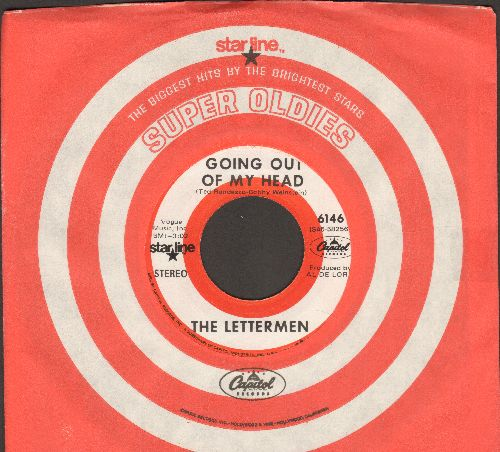 Lettermen - Goin' Out Of My Head/Hurt So Bad (double-hit re-issue with Capitol company sleeve) - NM9/ - 45 rpm Records