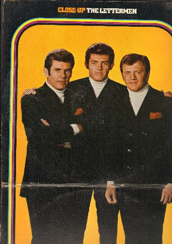 Lettermen - Close-Up: Pretty Blue Eyes, Young Love, I'll Never Stop Loving You, Blue Moon, Sincerely, Secret Love, All I Have To Do Is Dream (2 vinyl STEREO LP record set, gate-fold cover) - NM9/VG7 - LP Records