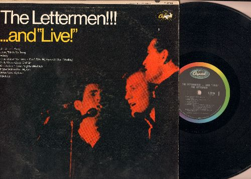 Lettermen - The Lettermen!!!..and Live!: Up Up And Away, Windy, Goin' Out Of My Head/Can't Take My Eyes Off You (Medley), This Is My Song (Vinyl MONO LP record) - NM9/EX8 - LP Records
