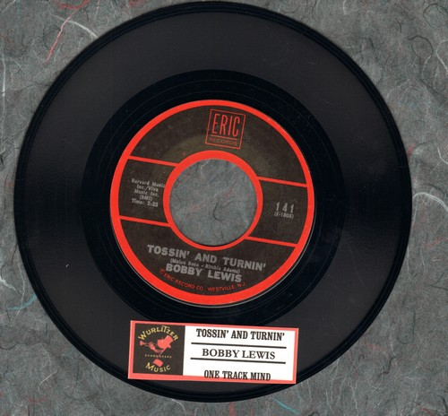 Lewis, Bobby - Tossin' And Turnin'/One Track Mind (re-issue with juke box label) - NM9/ - 45 rpm Records
