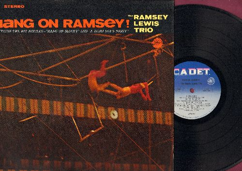 Lewis, Ramsey Trio - Hang On Ramsey!: A Hard Day's Night, He's A Real Gone Guy, And I Love Her, The More I See You, Satin Doll (Vinyl STEREO LP record) - NM9/EX8 - LP Records
