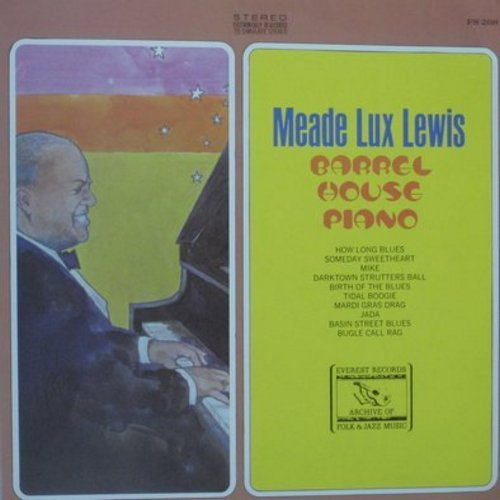 Lewis, Meade Lux - Barrel House Piano: Darktown Strutters Ball, Mardi Gras Ball, Tidal Boogie, Bugle Call Rag (Vinyl STEREO LP record) - M10/NM9 - LP Records