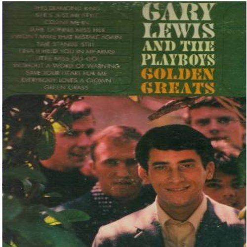 Lewis, Gary & The Playboys - Golden Greats: This Diamond Ring, Count Me In, She's Just My Style, Save Your Heart For Me, Everybody Loves A Clown, Sure Gonna Miss Her (Vinyl MONO LP record, gate-fold cover) - EX8/VG7 - LP Records