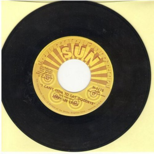 Lewis, Jerry Lee - I Can't Seem To Say Goodbye/Good Night Irene (authentic-looking re-issue) - EX8/ - 45 rpm Records