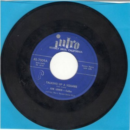 Lewis, Joe - Talking Up A Square/Hash #2 (FANTASTIC Square Dance two-sider with caller!) - EX8/ - 45 rpm Records