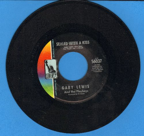 Lewis, Gary & The Playboys - Sealed With A Kiss/Sara Jane  - VG7/ - 45 rpm Records