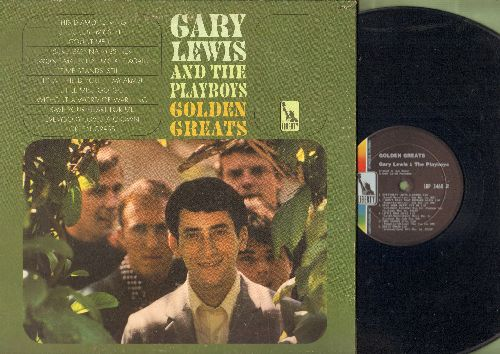 Lewis, Gary & The Playboys - Golden Greats: This Diamond Ring, Count Me In, She's Just My Style, Save Your Heart For Me, Everybody Loves A Clown, Sure Gonna Miss Her (Vinyl MONO LP record, gate-fold cover) - NM9/EX8 - LP Records