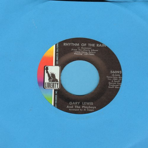 Lewis, Gary & The Playboys - Rhythm Of The Rain/Mister Memory - NM9/ - 45 rpm Records
