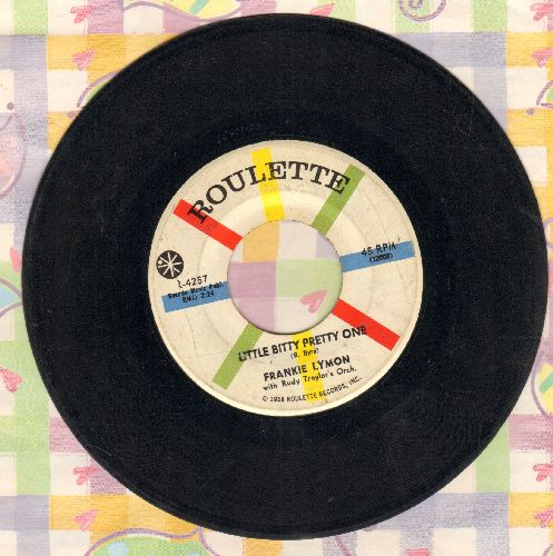Lymon, Frankie - Little Bitty Pretty One/Creation Of Love  - VG7/ - 45 rpm Records