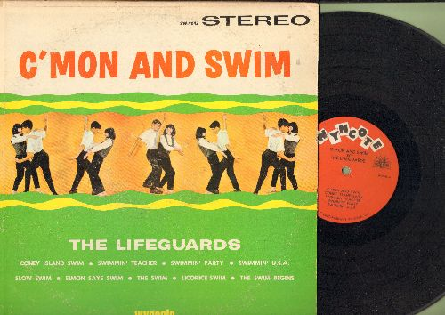 Lifeguards - C'Mom And Swim: Coney Island Swim, Swimmin' Teacher, Swimmin' U.S.A., Slow Swim (Vinyl STEREO LP record) - VG7/VG7 - LP Records