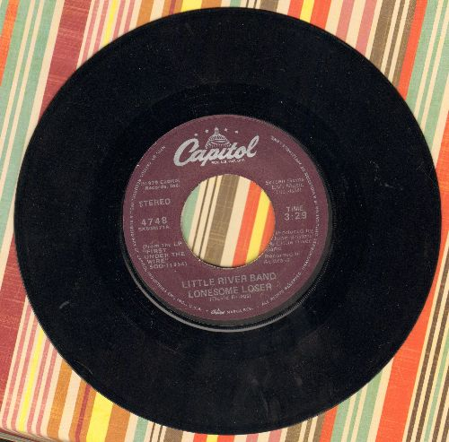 Little River Band - Lonesome Loser/Shut Down Turn Off - EX8/ - 45 rpm Records