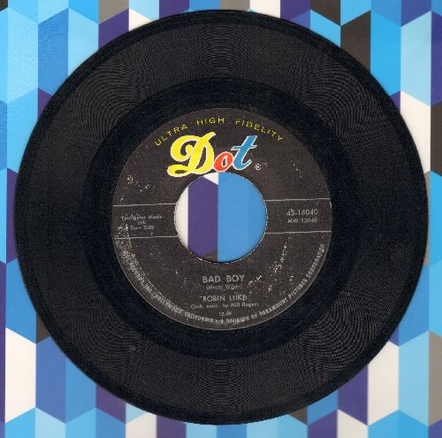 Luke, Robin - Bad Boy/School Bus Love Affair  - EX8/ - 45 rpm Records