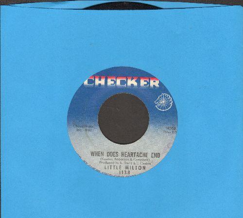 Little Milton - When Does Heartache End/I'm Mighty Grateful - EX8/ - 45 rpm Records