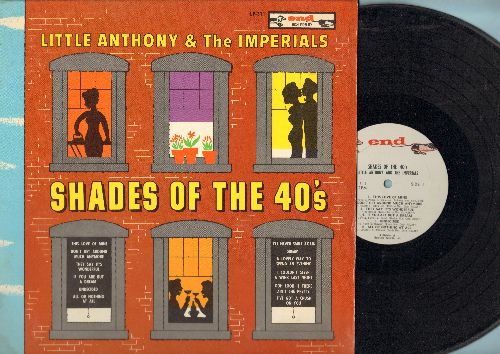 Little Anthony & The Imperials - Shades Of The 40s: Undecided, Dream, They Say It's Wonderful, Don't Get Around Much Anymore (vinyl STEREO LP record) - EX8/EX8 - LP Records