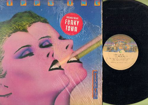 Lipps, Inc. - Mouth To Mouth: Funkytown (7:51 minutes undedited Disco Version)/All Night Dancing (8:00 minutes version)/Rock It (5:40 minutes Version)/Power (7:59 minutes version) (12 inch 33rpm vinyl MAXI Single with picture cover) - NM9/EX8 - Maxi Singl
