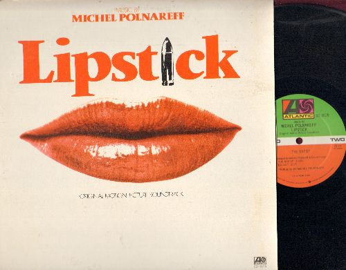 Polnareff, Michel - Lipstick - Origianl Motion Picture Soundtrack (vinyl STEREO LP record) - NM9/VG7 - LP Records