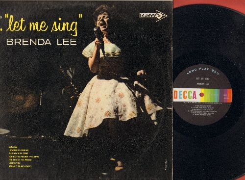 Lee, Brenda - Let Me Sing: At Last, Our Day Will Come, The End Of The World (Vinyl MONO LP record) - EX8/VG7 - LP Records