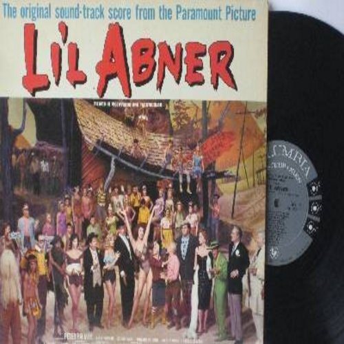 Li'l Abner - Li'l Abner - Original Motion Picture Sound Track (Vinyl MONO LP record) - M10/VG7 - LP Records