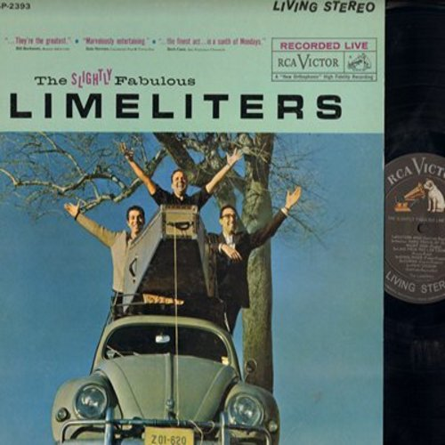 Limeliters - The Slightly Fabulous Limeliters: Western Wind, Gunslinger, Vikki Dougan, Whistling Gypsy, Mama Don't Allow (Vinyl STEREO LP record) - NM9/VG7 - LP Records