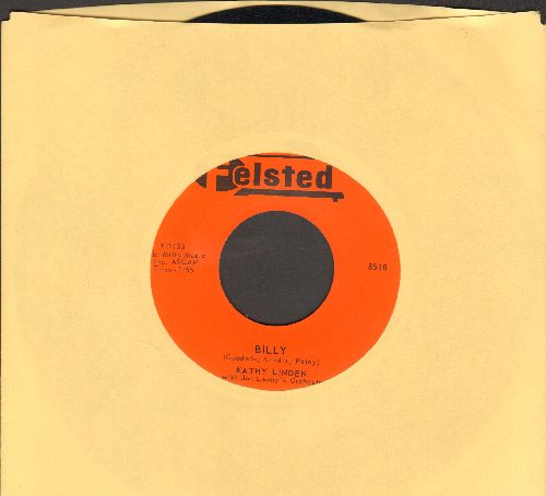 Linden, Kathy - Billy/If I Could Hold You In My Arms (MINT condition!) - M10/ - 45 rpm Records