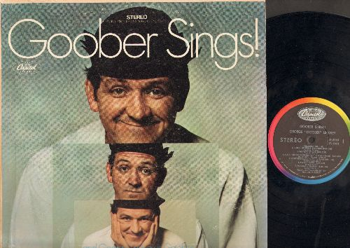 Lindsey, George Goober - Goober Sings!: Good Morning Sunshine, I Ain't Good Looking (But I'm Mighty Sweet), Write Me R.F.D., Moccasin Branch (Vinyl MONO LP record) - EX8/VG7 - LP Records