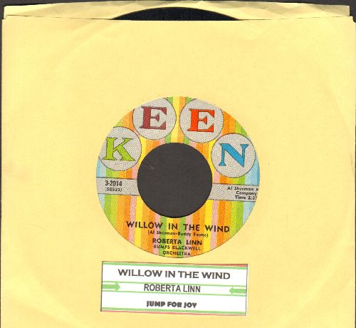Linn, Roberta - Willow In The Wind/Jump For Joy (with juke box label) (wol) - EX8/ - 45 rpm Records