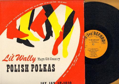 Lil' Wally - Li'l Wally Plays Old Country Ploish Polkas: When I Was Single, I Love My Girls, Merrily I Sing, Merka Merka (Vinyl LP record) - NM9/NM9 - 45 rpm Records