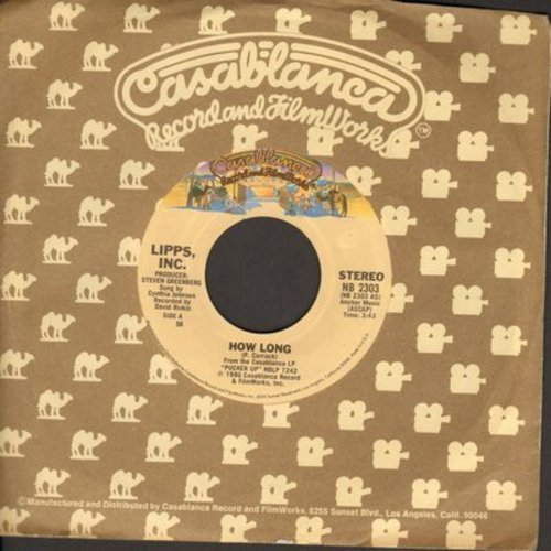 Lipps, Inc. - How Long/There They Are (with Casablanca company sleeve) - NM9/ - 45 rpm Records