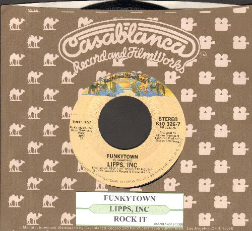 Lipps, Inc. - Funkytown/All Night Dancing (with juke box label and Casablanca company sleeve) - NM9/ - 45 rpm Records