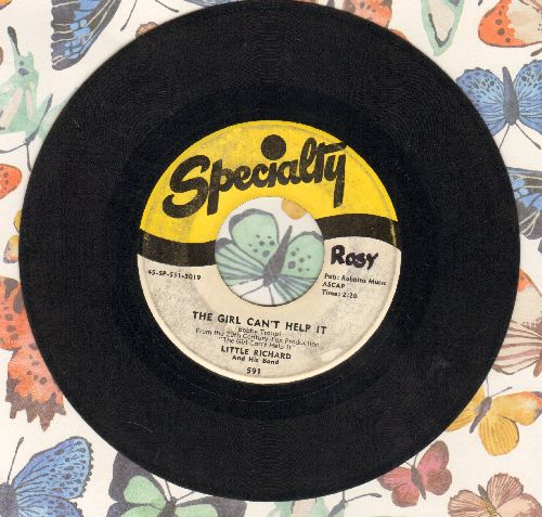 Little Richard - The Girl Can't Help It/All Around The World (wol) - VG6/ - 45 rpm Records