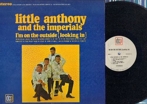 Little Anthony & The Imperials - I'm On The Outside (Looking In): Tears On My Pillow,  Make It Easy On Yourself, The Girl From Ipanema, Walk On By, Funny, Exodus Our Song (Vinyl STEREO LP record) - EX8/EX8 - LP Records
