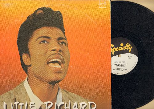 Little Richard - Little Richard: Lucille, The Girl Can't Help It, Baby Face, Send Me Some Lovin', Good Golly Miss Molly, Keep A Knockin' (Vinyl LP record, authentic-looking re-issue of vintage album) - NM9/VG6 - LP Records