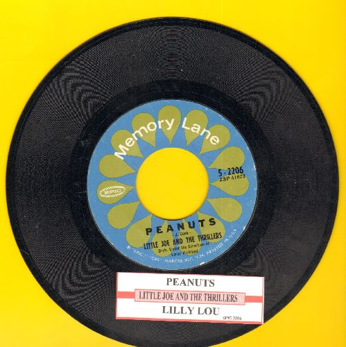 Little Joe & The Thrillers - Peanuts/Lilly Lou (double-hit re-issue with juke box label) - NM9/ - 45 rpm Records