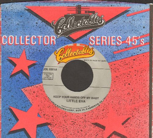 Little Eva - Keep Your Hands Off My Baby/Let's Turkey Trot (double-hit re-issue, MINT condition with company sleeve) - M10/ - 45 rpm Records