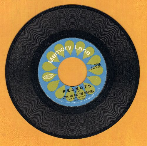 Little Joe & The Thrillers - Peanuts/Lilly Lou (MINT condition re-issue) - M10/ - 45 rpm Records