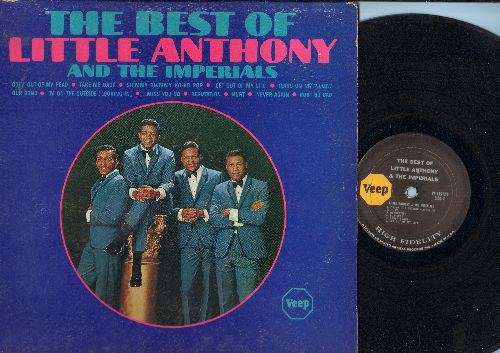 Little Anthony & The Imperials - Best Of: Goin' Out Of My Head, Shimmy Shimmy Ko-Ko Bop, Tears On My Pillow, Our Song, Hurt, I Miss You So (Vinyl MONO LP record) - VG6/VG7 - LP Records