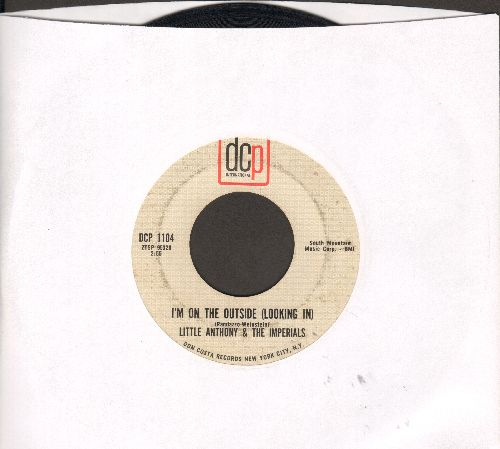 Little Anthony & The Imperials - I'm On The Outside (Looking In)/Please Go - VG7/ - 45 rpm Records